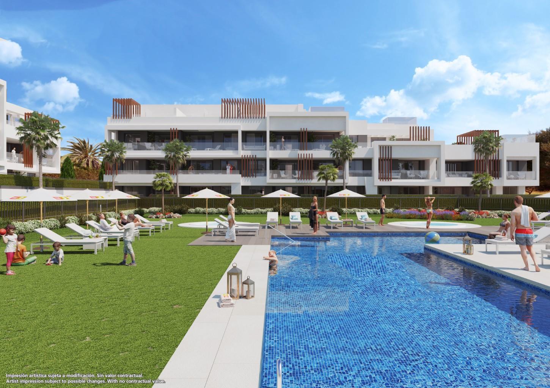 Magnifique appartement dans un nouveau complexe, avec 2 chambres et 2 salles de bains à proximité de tous commerces et de la plage ! LIVRAISON OCTOBRE 2018 !!