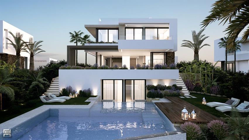 Villa à Estepona/Malaga, Costa Del Sol