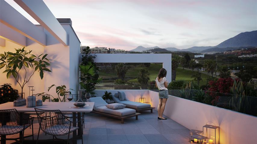 Half vrijstaande villa in Casares / Malaga, Costa Del Sol