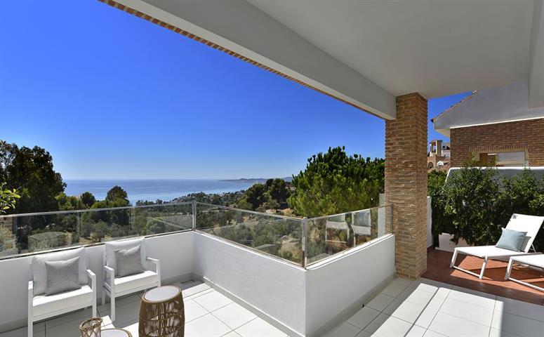 Halfvrijstaande villa in Benalmadena/Malaga, Costa del Sol
